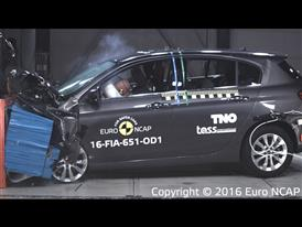 Fiat Tipo - Frontal Offset Impact test 2016