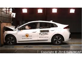 Hyundai Ioniq - Frontal Full Width test 2016