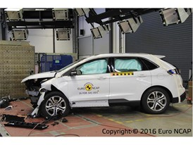 Ford Edge - Frontal Offset Impact test 2016 - after crash
