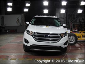 Ford Edge - Side crash test 2016