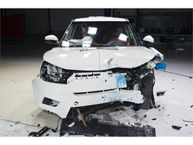 SsangYong Tivoli- Frontal Offset Impact test 2016 - after crash