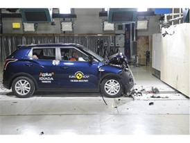 SsangYong Tivoli - Frontal Full Width test 2016 - after crash