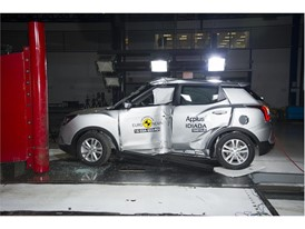 SsangYong Tivoli - Pole crash test 2016 - after crash