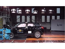 Audi Q2 - Frontal Offset Impact test 2016