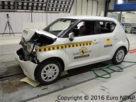 Suzuki Ignis - Frontal Full Width test 2016 - after crash