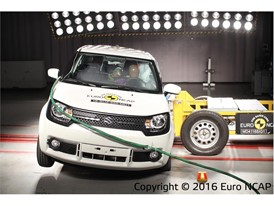Suzuki Ignis - Side crash test 2016