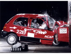 Crash test phase 1 - Nissan Micra