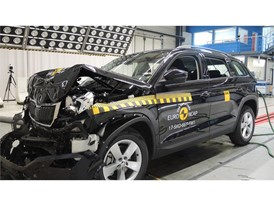 Skoda Kodiaq - Frontal Full Width test 2017 - after crash
