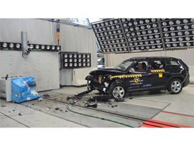 Skoda Kodiaq - Frontal Offset Impact test 2017 - after crash