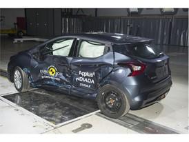 Nissan Micra - Side crash test 2017- after crash
