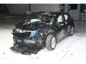 Nissan Micra - Frontal Offset Impact test 2017 - after crash