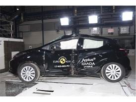 Nissan Micra - Pole crash test 2017 - after crash