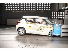 Suzuki Swift - Frontal Offset Impact test 2017