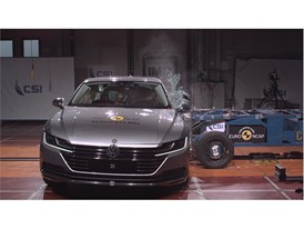 VW Arteon - Side crash test 2017