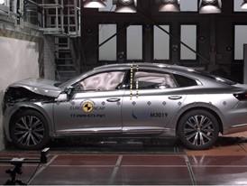 VW Arteon- Frontal Full Width test 2017