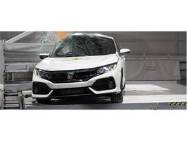 Honda Civic - Pole crash test 2017