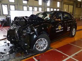 Alfa Romeo Stelvio - Frontal Full Width test 2017 - after crash