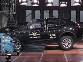 Alfa Romeo Stelvio  - Frontal Offset Impact test 2017