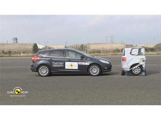Ford Focus  - AEB Tests 2013