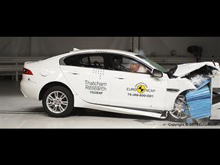 Jaguar XE - Euro NCAP Results 2015