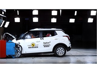 SsangYong XLV - Euro NCAP Results 2016