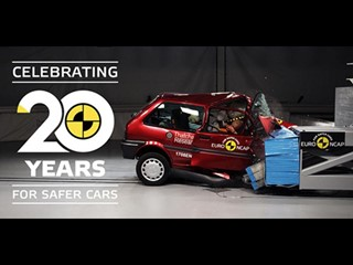 Euro NCAP Marks 20th Anniversary of Life-Saving Crash Tests