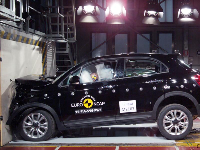 FIAT 500X - Frontal Full Width test 2015