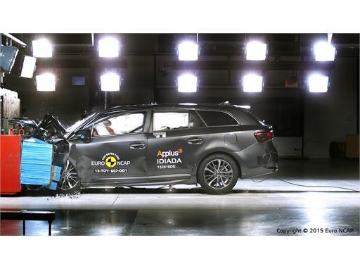 Toyota Avensis  - Frontal Offset Impact test 2015