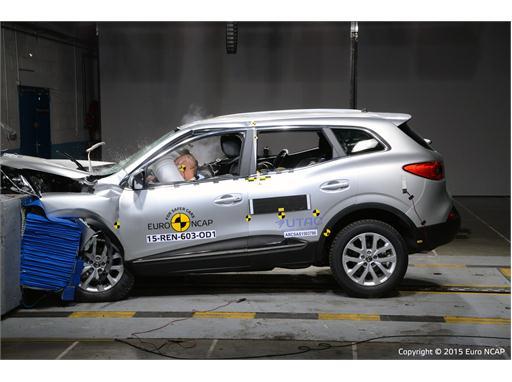 Renault Kadjar  - Frontal Offset Impact test 2015