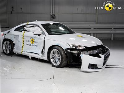 The New Audi TT Peaks at Four Stars