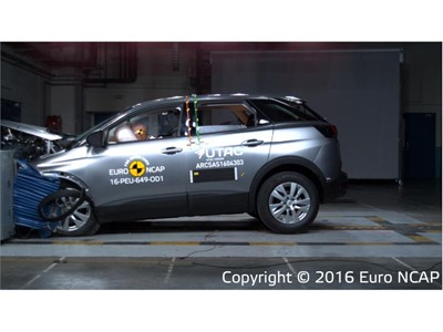 Peugeot 3008 - Euro NCAP Results 2016