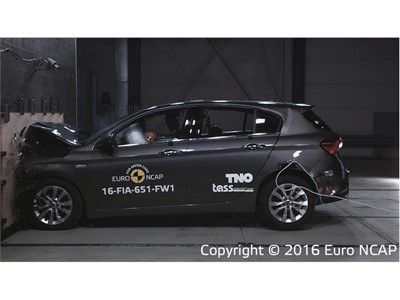 Fiat Tipo - Frontal Full Width test 2016