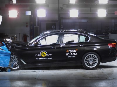 BMW 5-Series  - Euro NCAP Results 2017