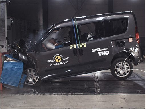 Fiat Doblo  - Frontal Offset Impact test 2017
