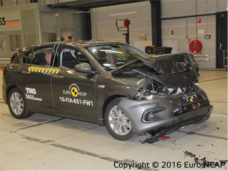 Euro NCAP Newsroom : Euro NCAP safety ratings: <b>Fiat Tipo</b> - it's ...