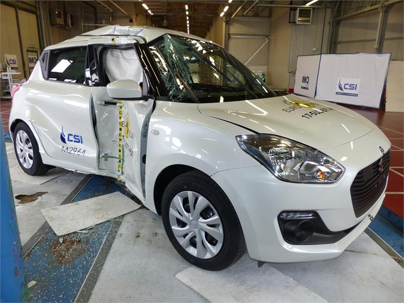<b>Euro NCAP</b> Newsroom : Suzuki Swift - <b>Euro NCAP</b> Results 2017