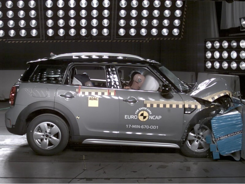 Euro NCAP Newsroom : MINI Countryman - Euro NCAP Results 2017