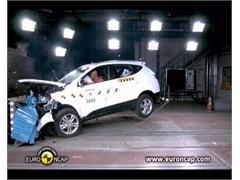 Hyundai IX35 - Crash Tests 2010