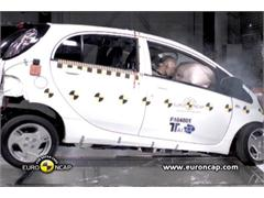 Mitsubishi i-Miev - Crash Test
