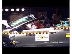 VW Golf Cabriolet - Crash Tests 2011