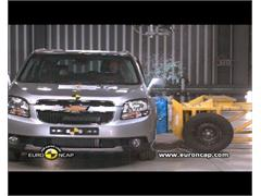 CHEVROLET Orlando - Crash Tests 2011