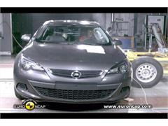 Opel Vauxhall Astra GTC- Crash Tests 2011