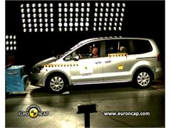 VW Sharan -  Euro NCAP Results 2010