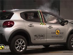 Citroën C3 - Euro NCAP Results 2017