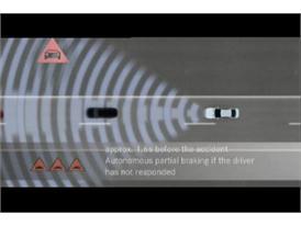 Mercedes Pre-Safe Brake
