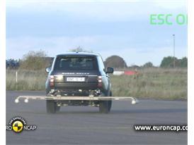 Range Rover ESC Tests 2012