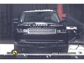 Range Rover Crash Test 2012