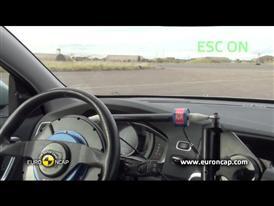 Volvo V60 Plug-In Hybrid  ESC Tests 2012