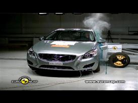 Volvo V60 Plug-In Hybrid  Crash Test 2012