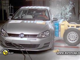 VW Golf  Crash Test 2012